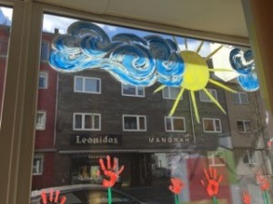 Fensterfront eins